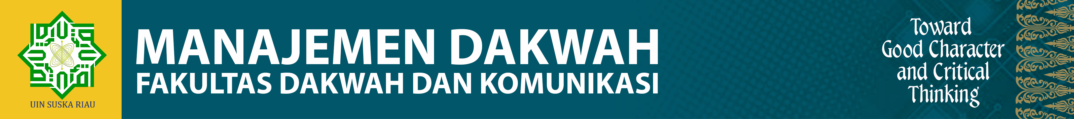 Prodi Manajemen Dakwah
